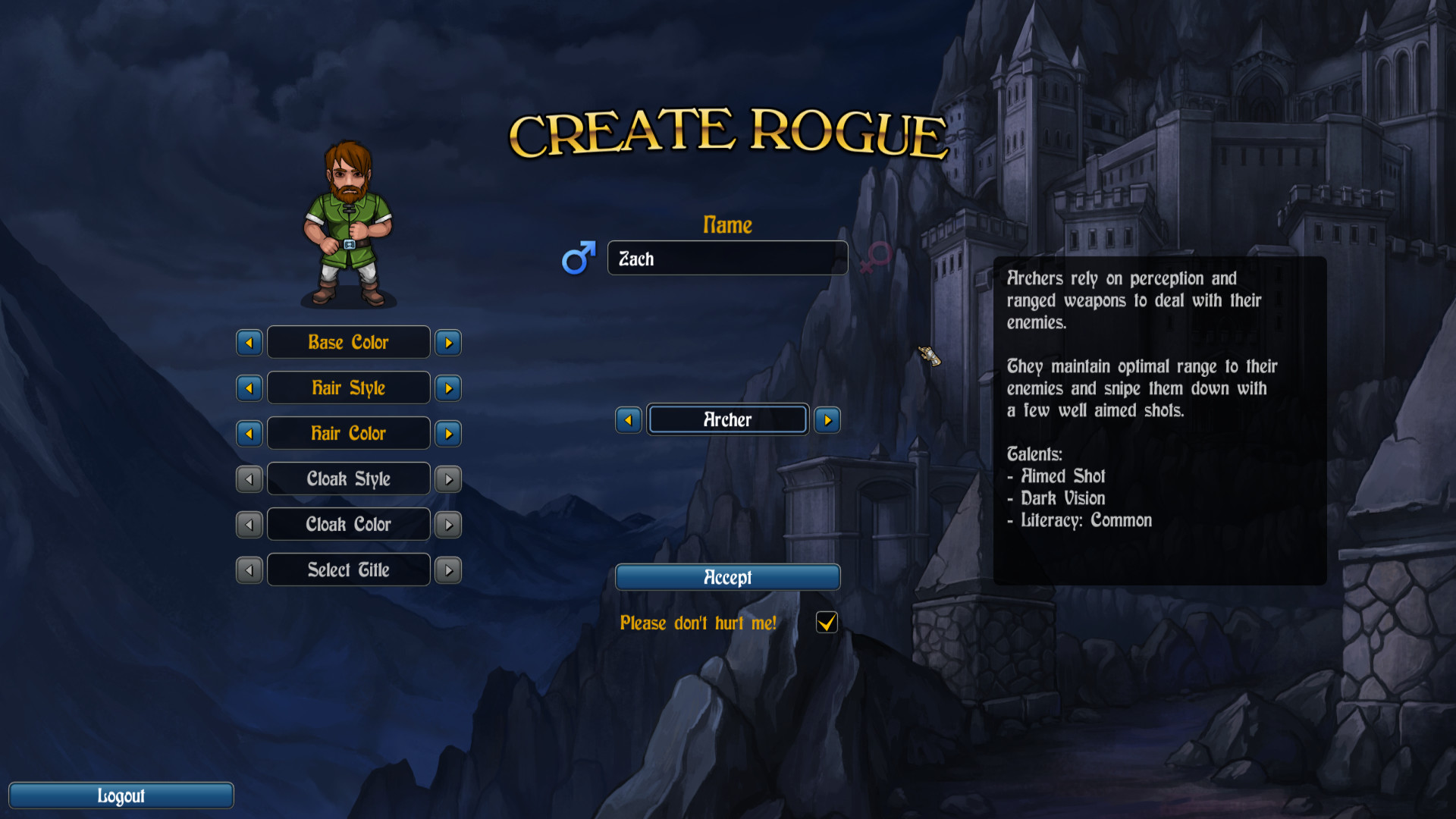 Rogue's Tale screenshot