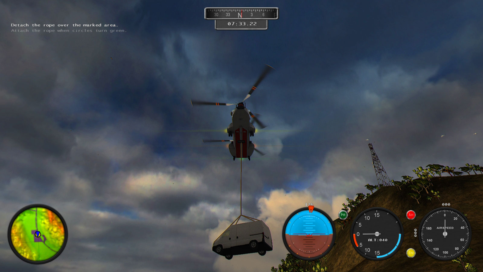 Helicopter Simulator 2014: Search and Rescue screenshot