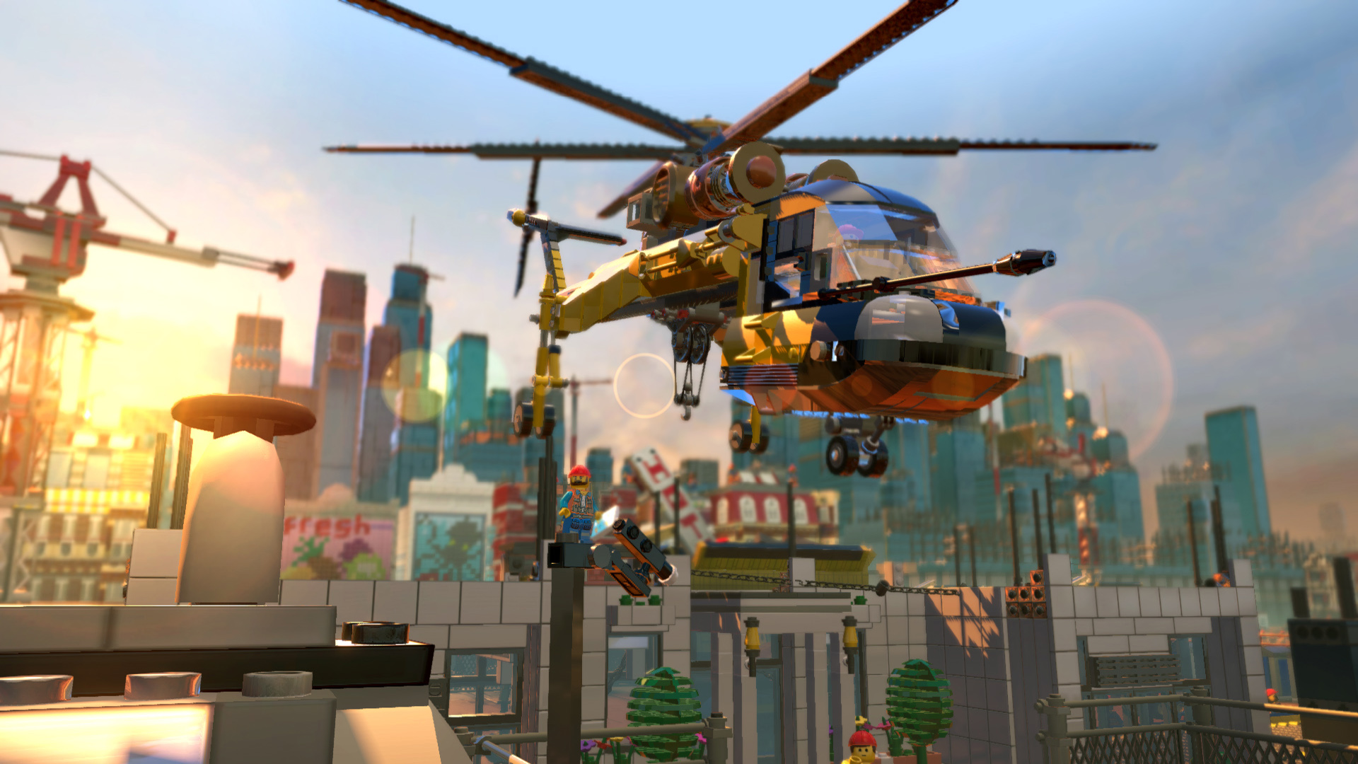 The LEGO Movie - Videogame screenshot