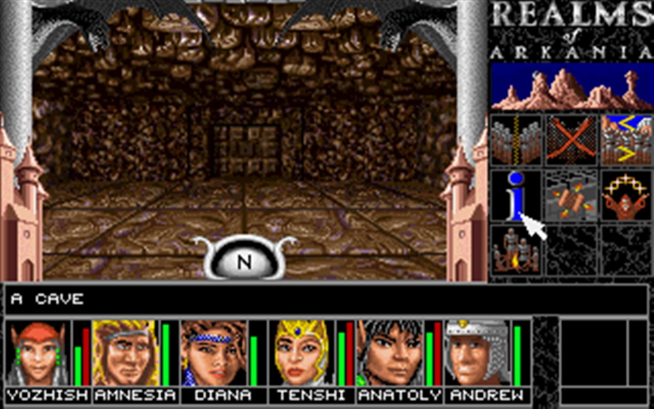 Realms of Arkania 1 - Blade of Destiny Classic screenshot