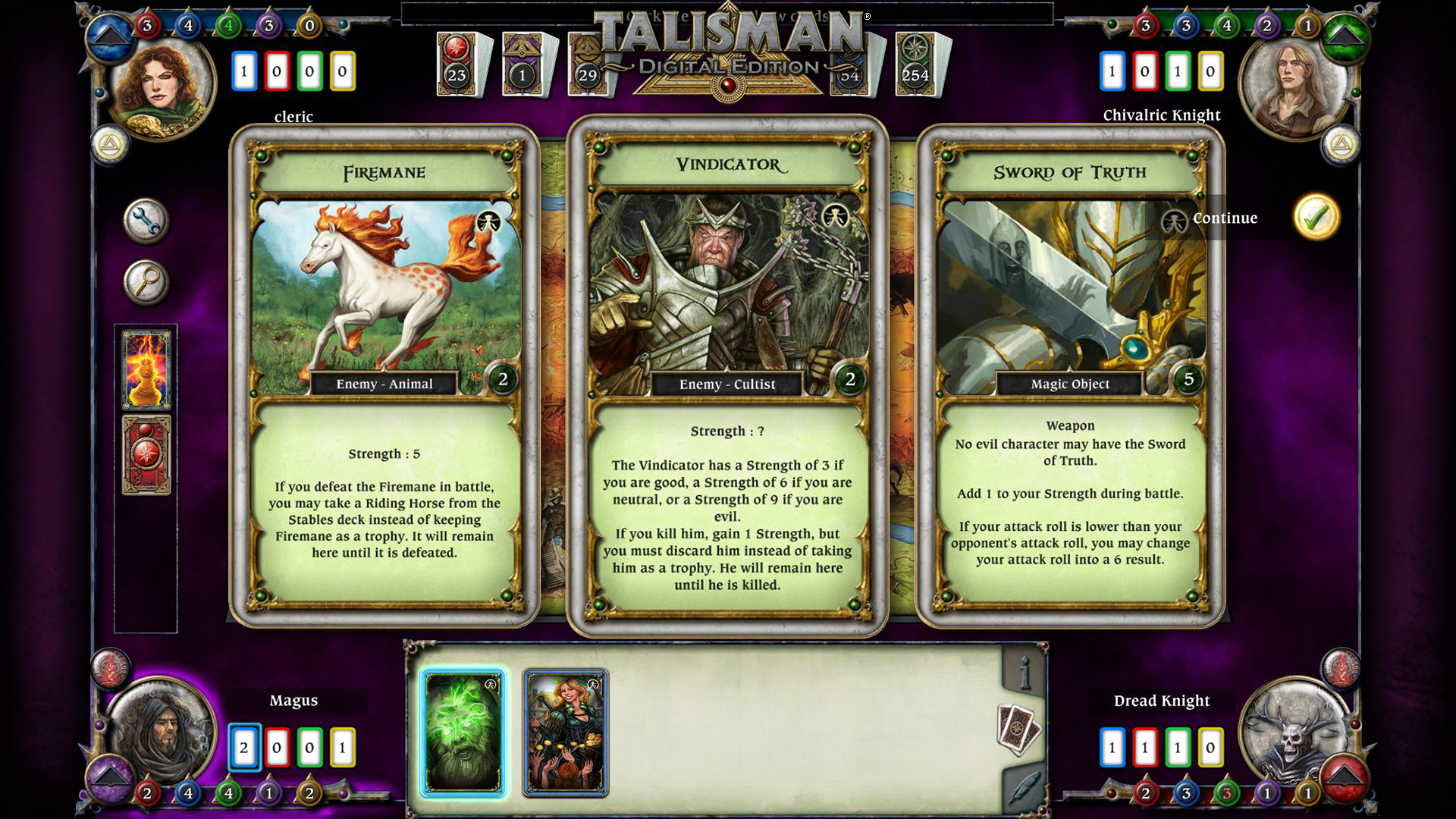 Talisman - The Sacred Pool Expansion screenshot