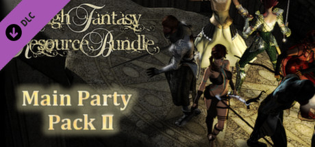 RPG Maker VX Ace - High Fantasy Main Party Pack II