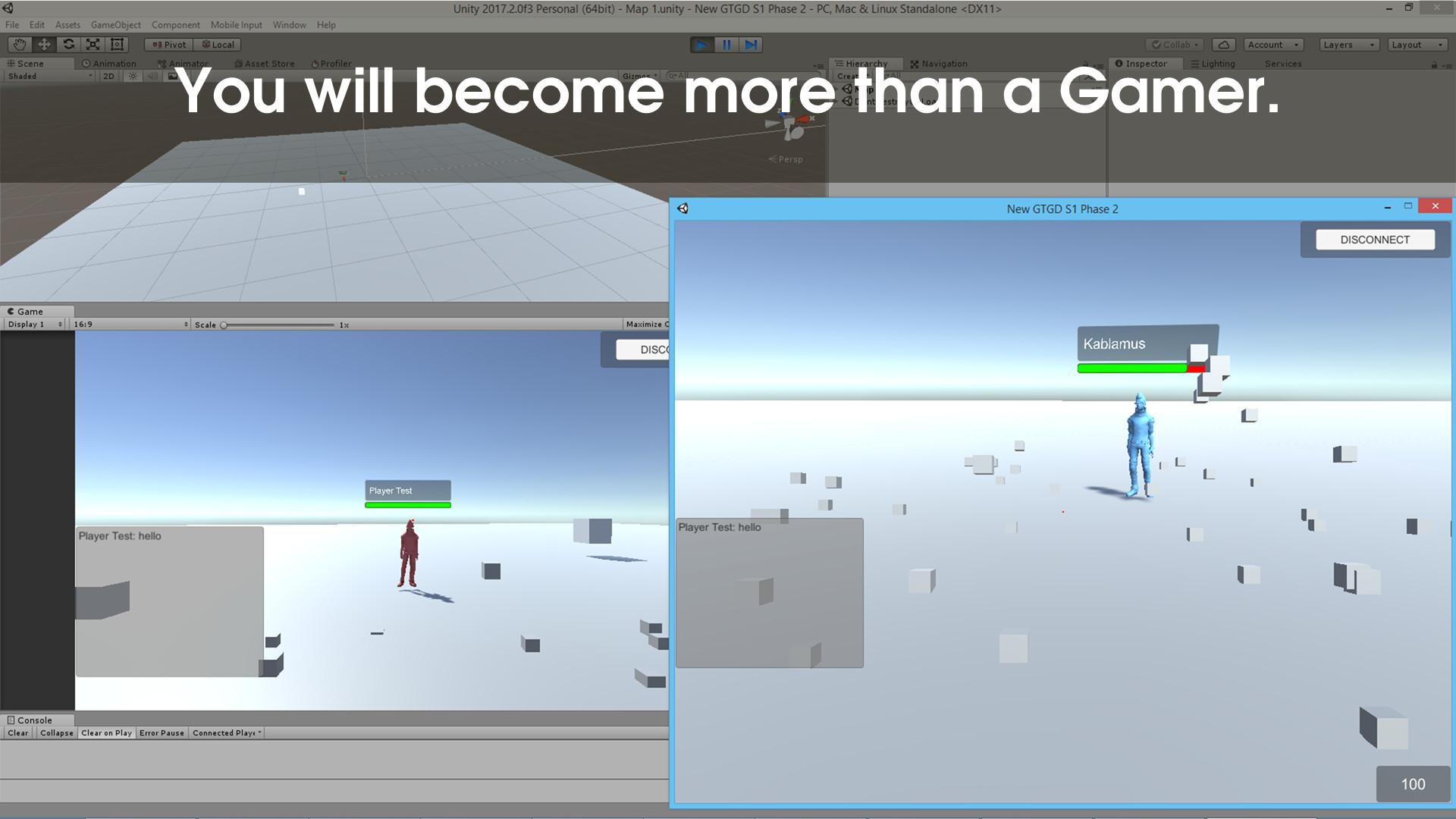 GTGD S1: More Than a Gamer screenshot