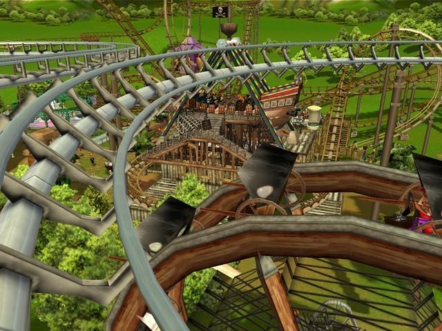 RollerCoaster Tycoon 3: Platinum screenshot