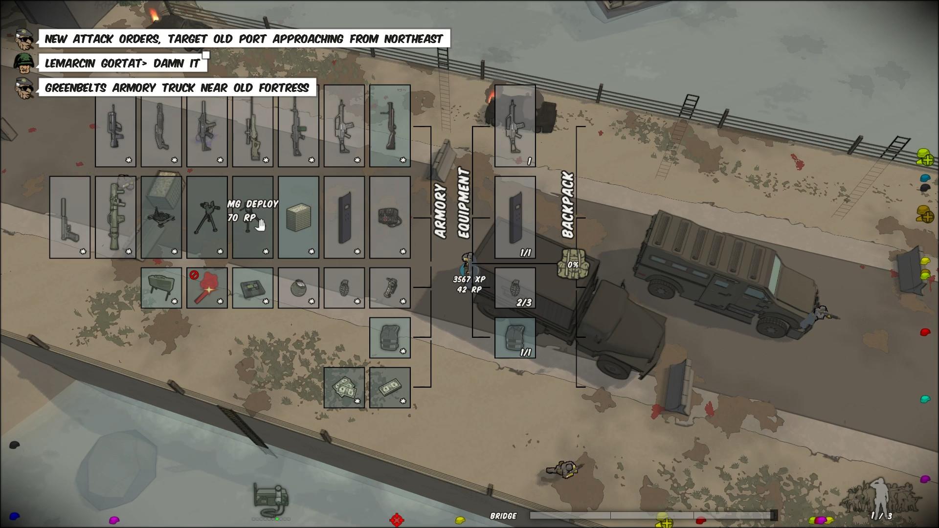 RUNNING WITH RIFLES screenshot
