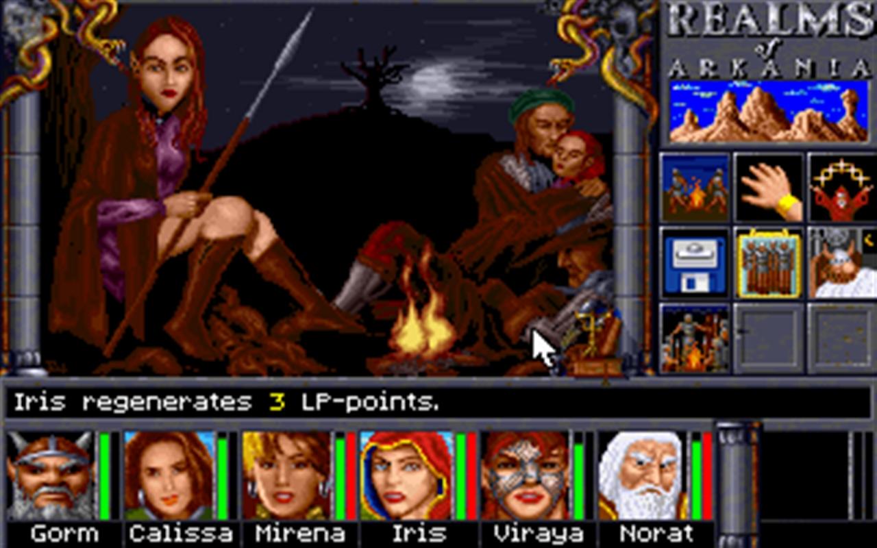 Realms of Arkania 2 - Star Trail Classic screenshot