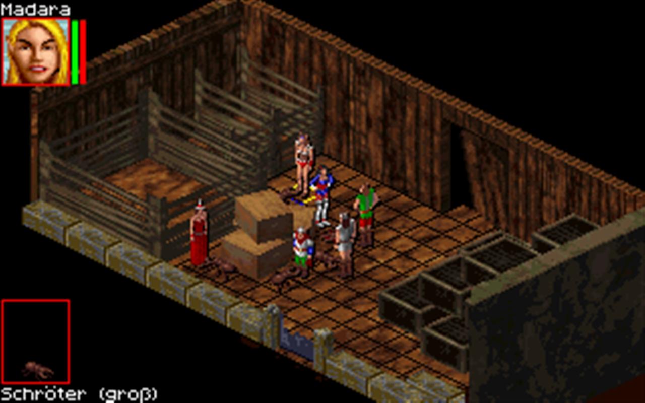 Realms of Arkania 3 - Shadows over Riva Classic screenshot