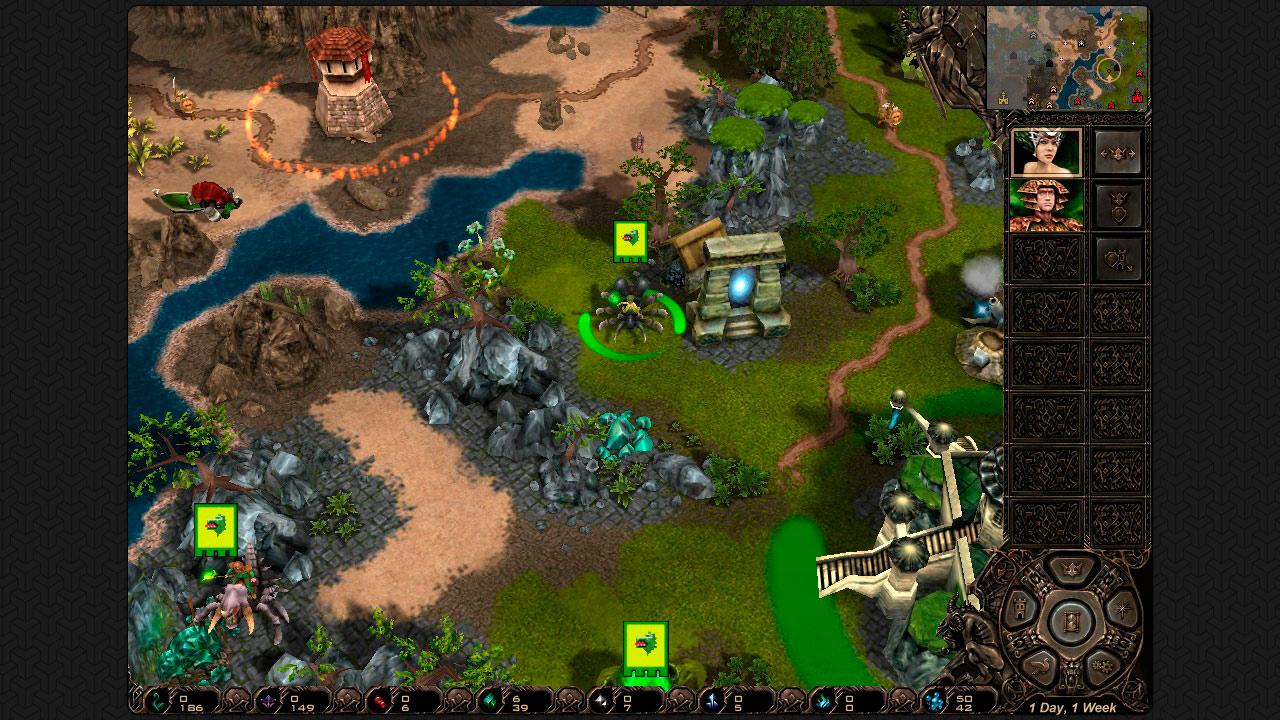 Etherlords screenshot