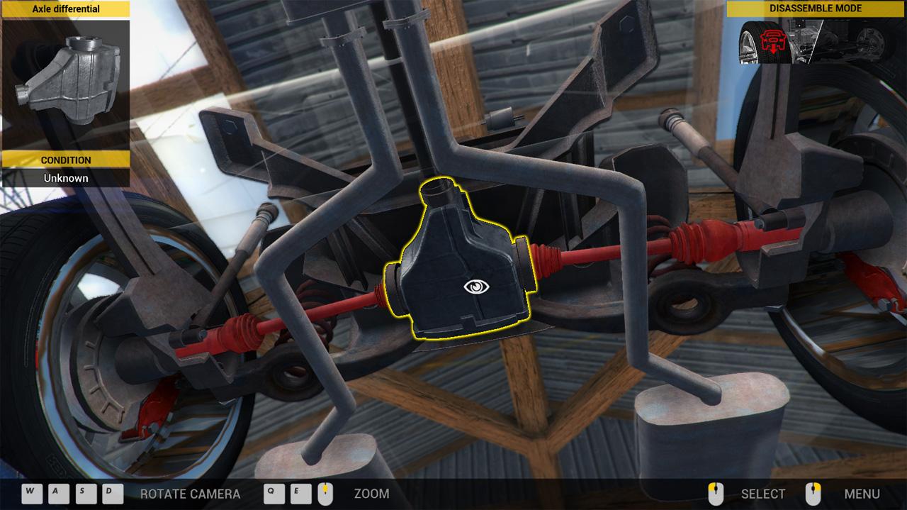 Car Mechanic Simulator 2014 screenshot