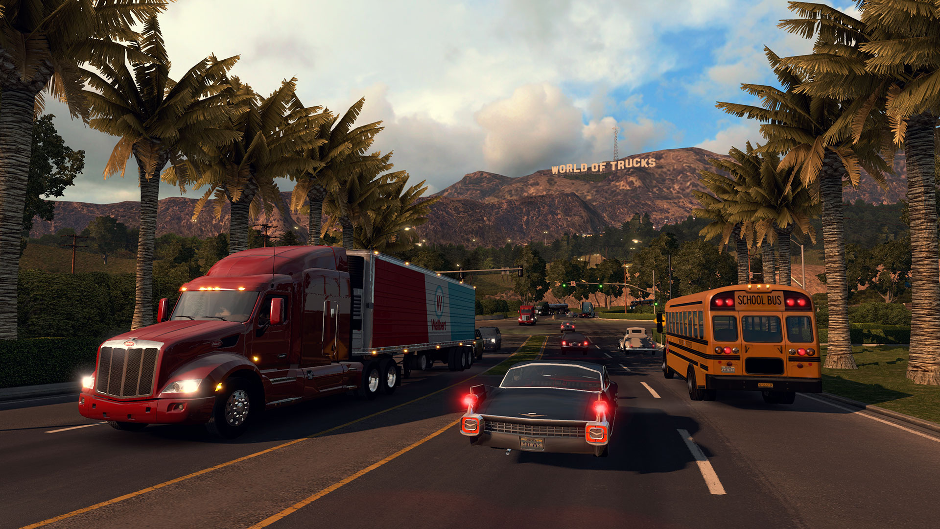 American Truck Simulator PS4