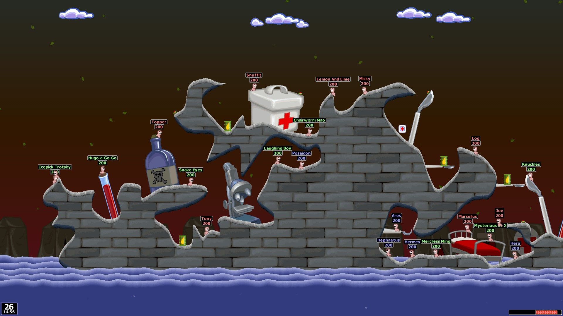 Worms World Party Remastered screenshot