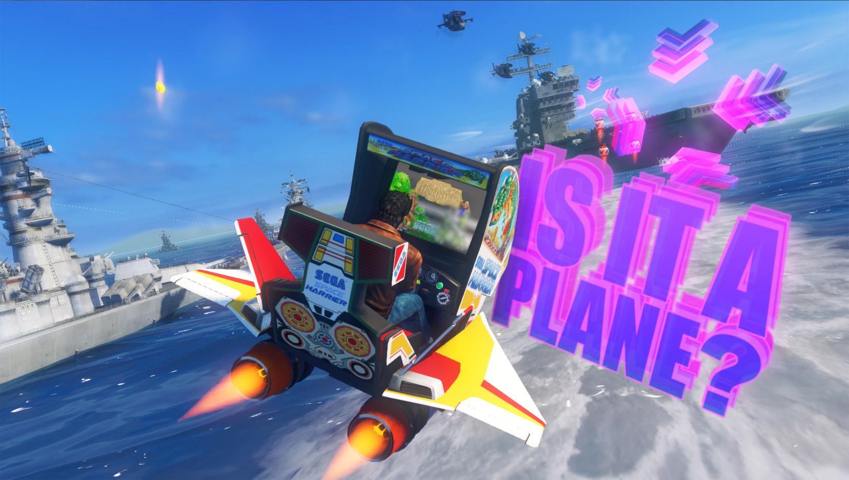 Sonic and All-Stars Racing Transformed: Ryo Hazuki screenshot
