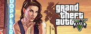 Logo for Grand Theft Auto V