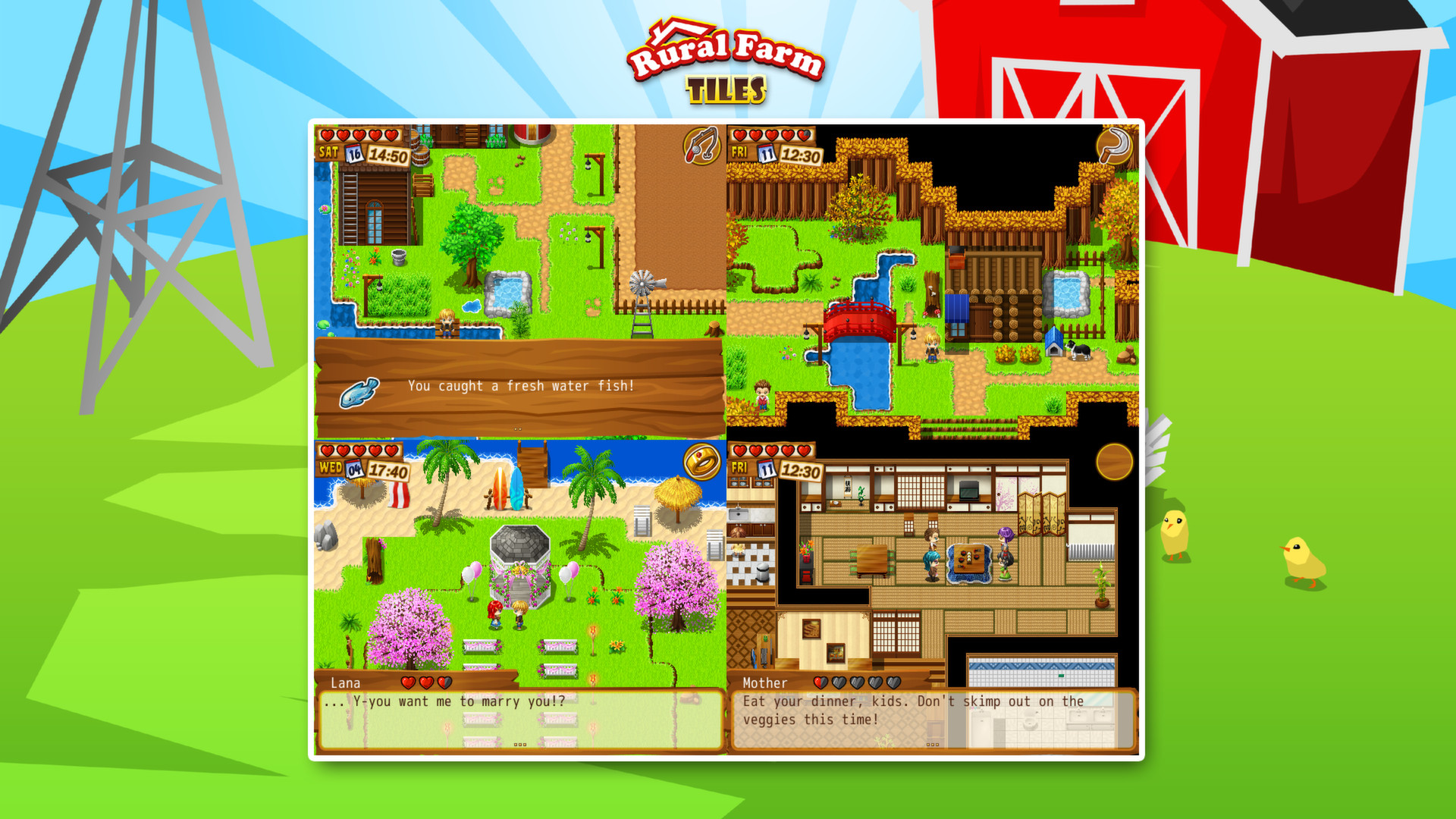 RPG Maker VX Ace - Rural Farm Tiles Resource Pack screenshot