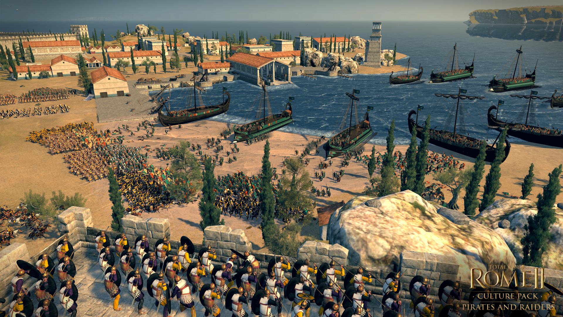 Total War: ROME II - Pirates and Raiders Culture Pack screenshot
