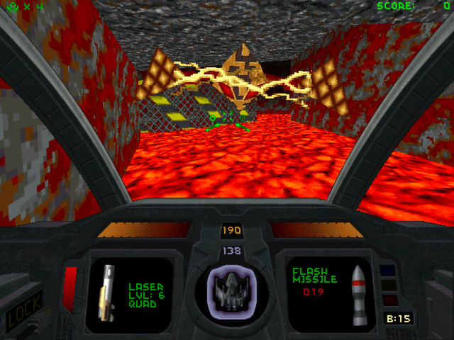 Descent 2 screenshot