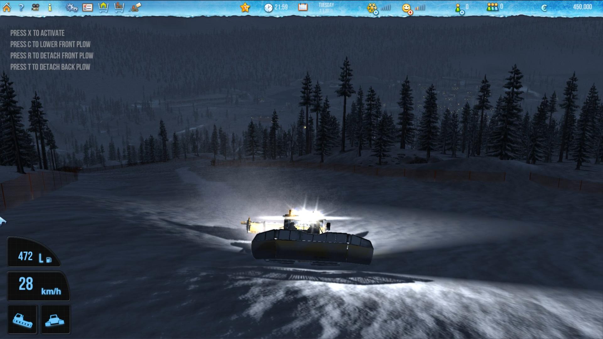 Ski-World Simulator screenshot