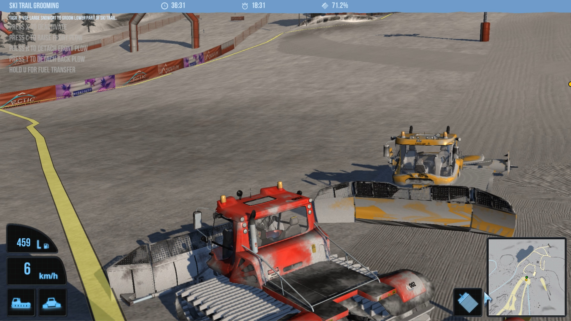 Snowcat Simulator screenshot