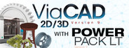Punch! ViaCAD 2D/3D v9 + 3D Printing PowerPack LT