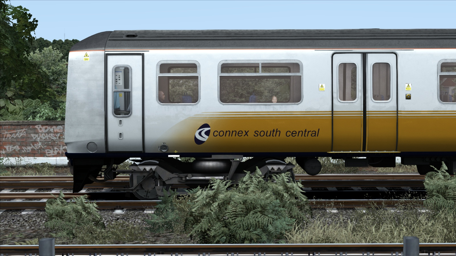TS Marketplace: Connex South Central Class 319 Livery Add-On screenshot