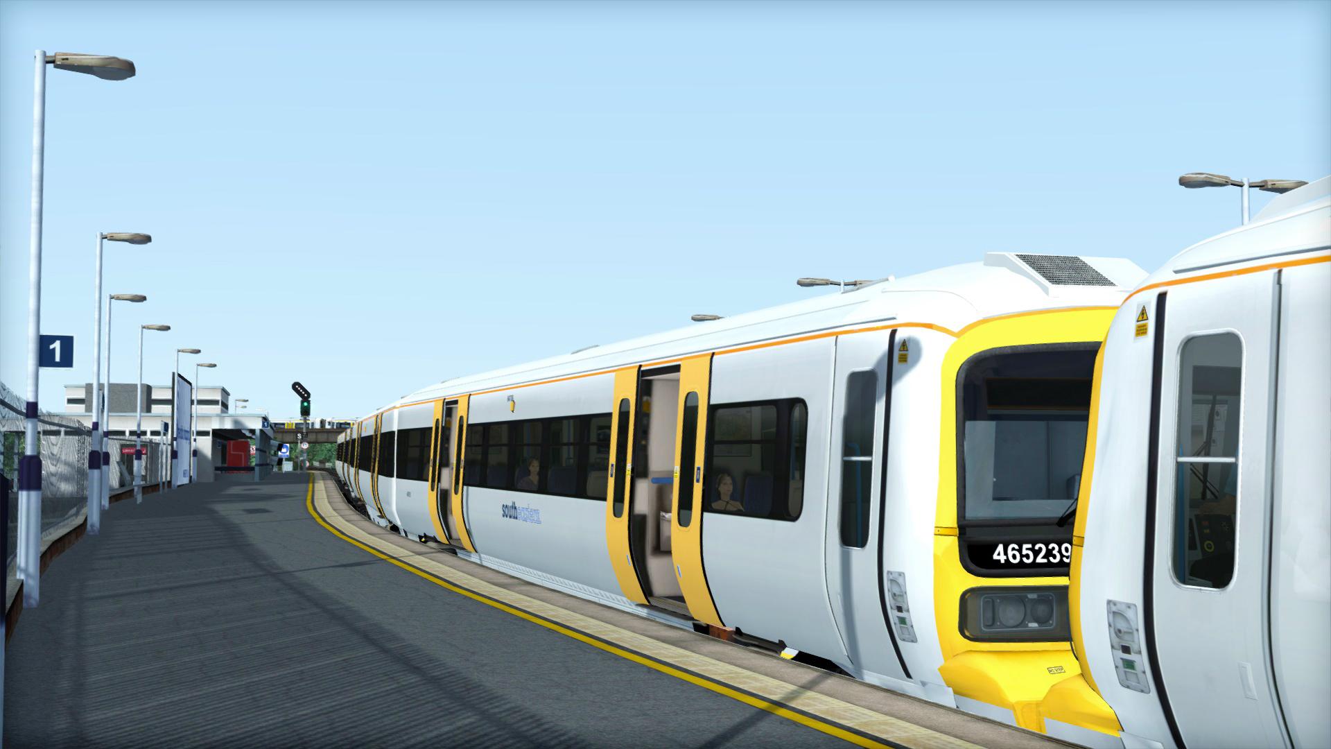 TS Marketplace: Class 465 Southeastern Livery Pack Add-On screenshot