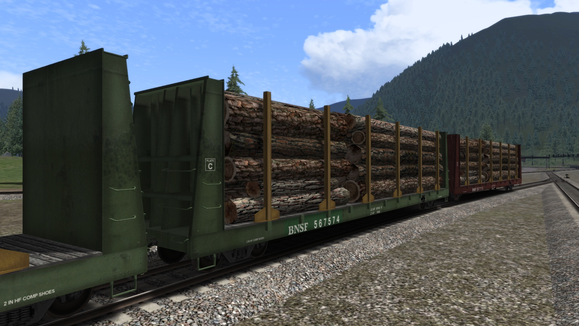 BNSF Wagon Pack Add-On screenshot