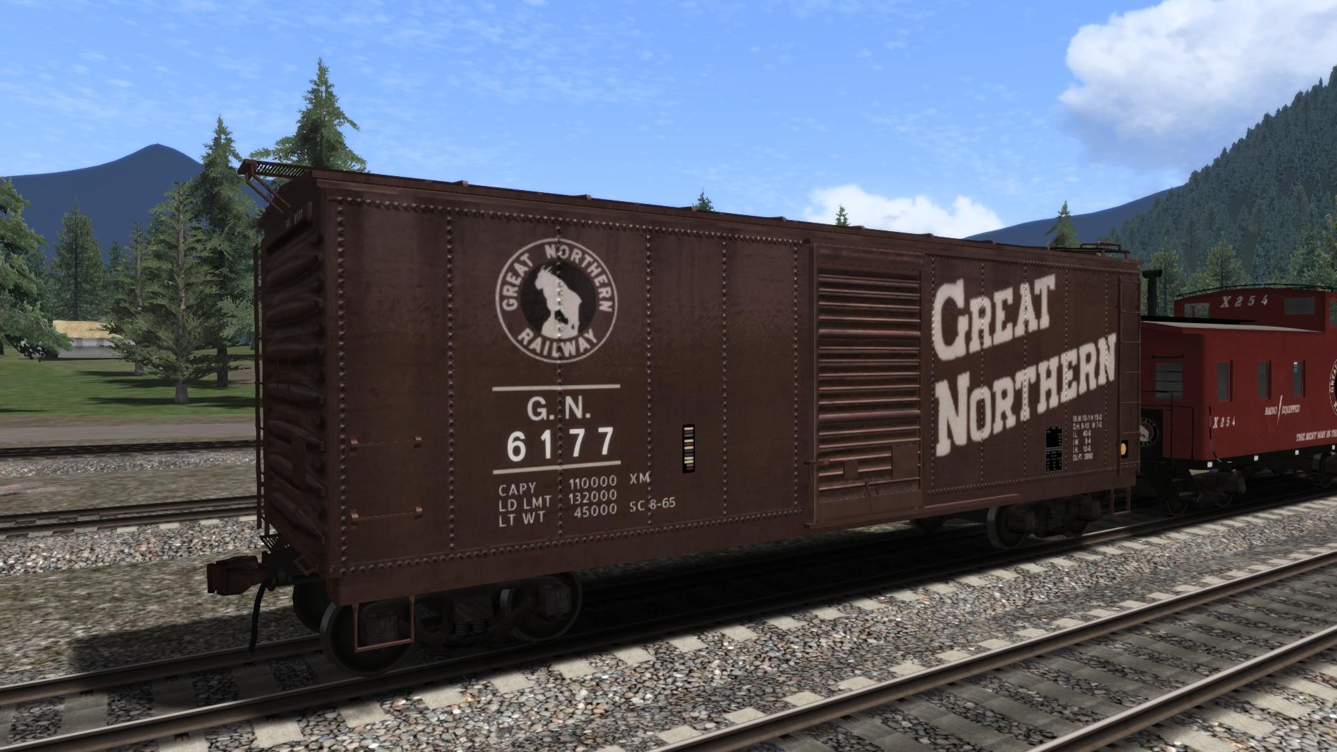 Great Northern Wagon Pack Add-On screenshot