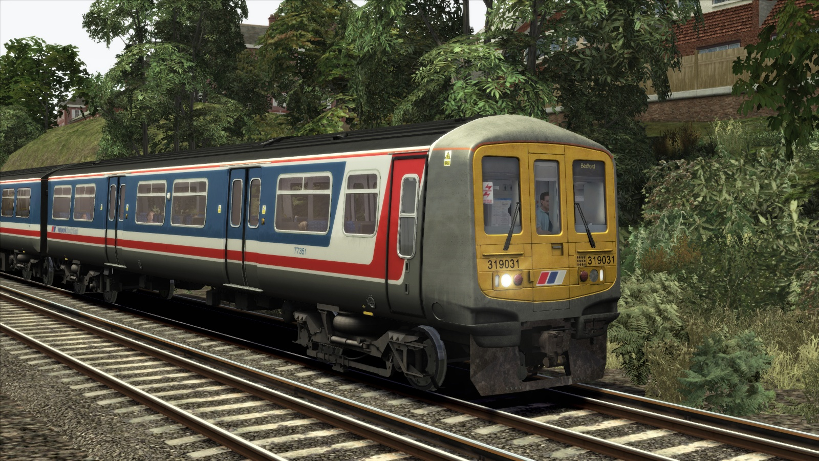 Network South East Class 319 Add-on Livery screenshot