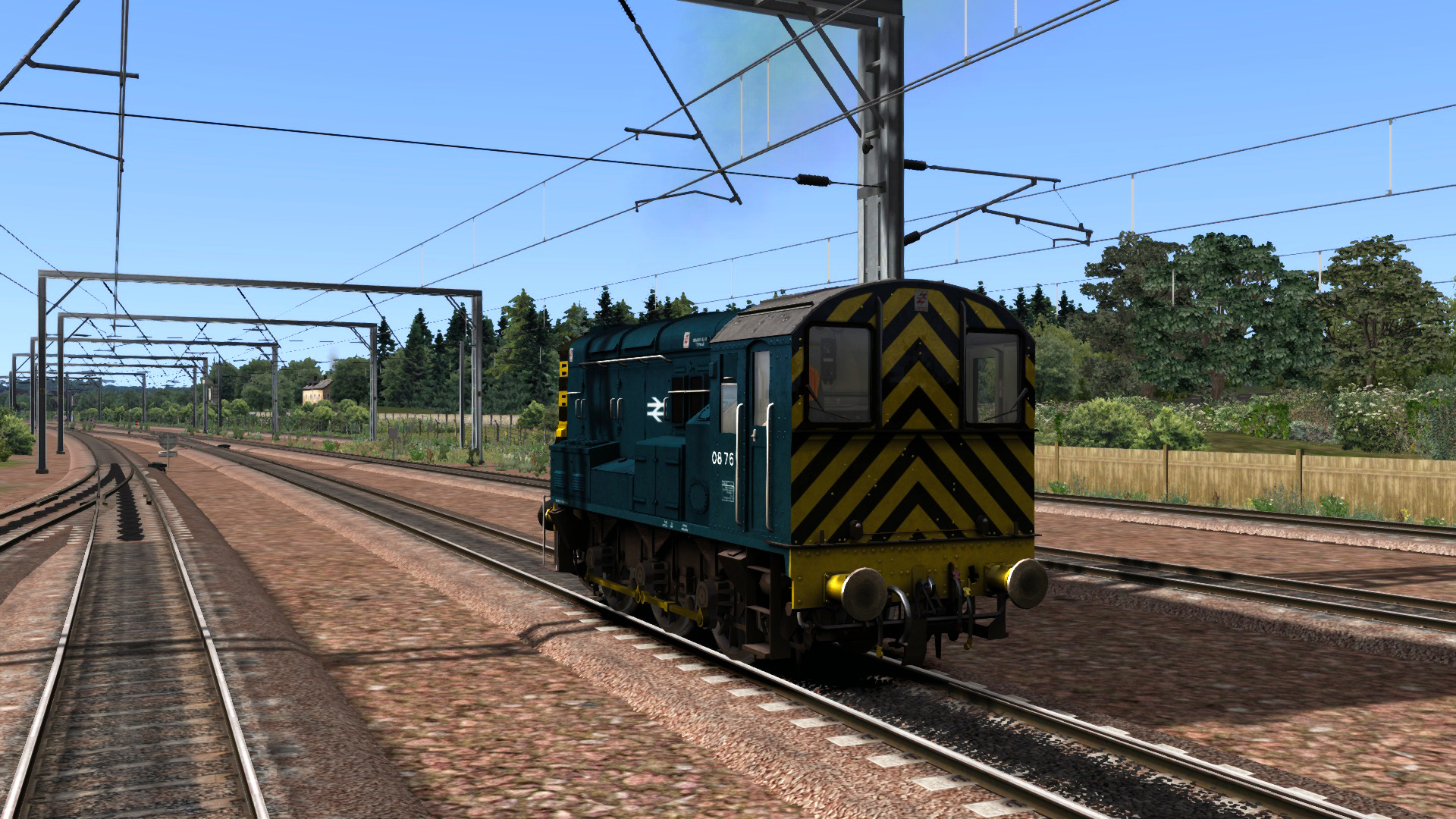 BR Blue Class 08 Add-on Livery screenshot