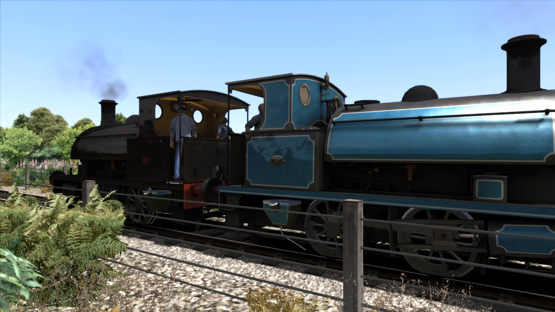 0-4-0 Saddletank Pack 2 Add-on Loco screenshot