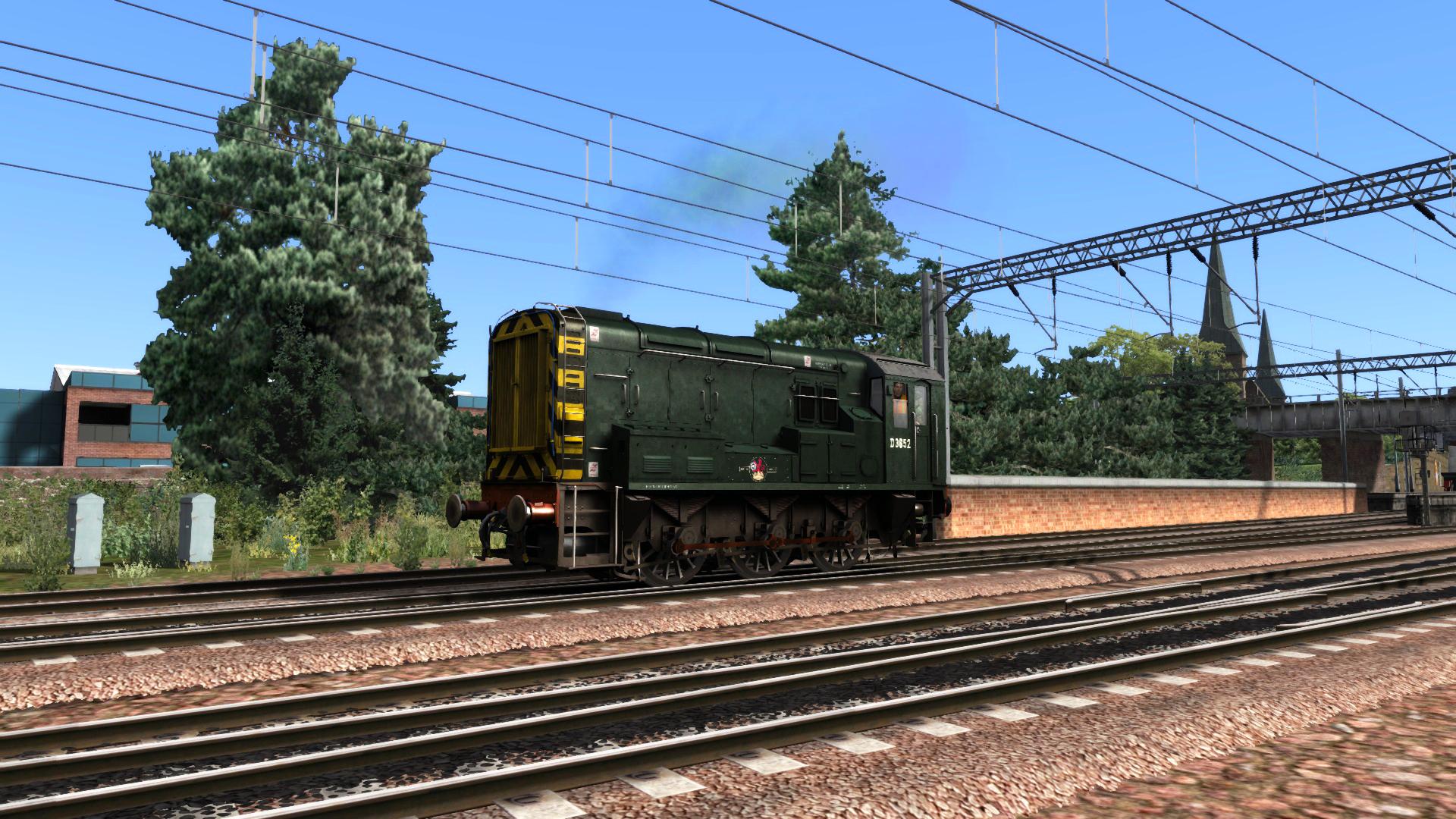 BR Green Class 08 Add-on Livery screenshot