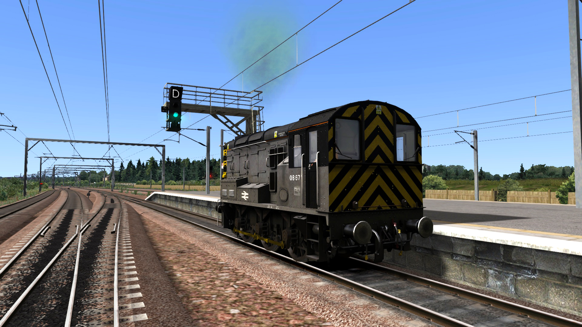 BR General Class 08 Add-on Livery screenshot
