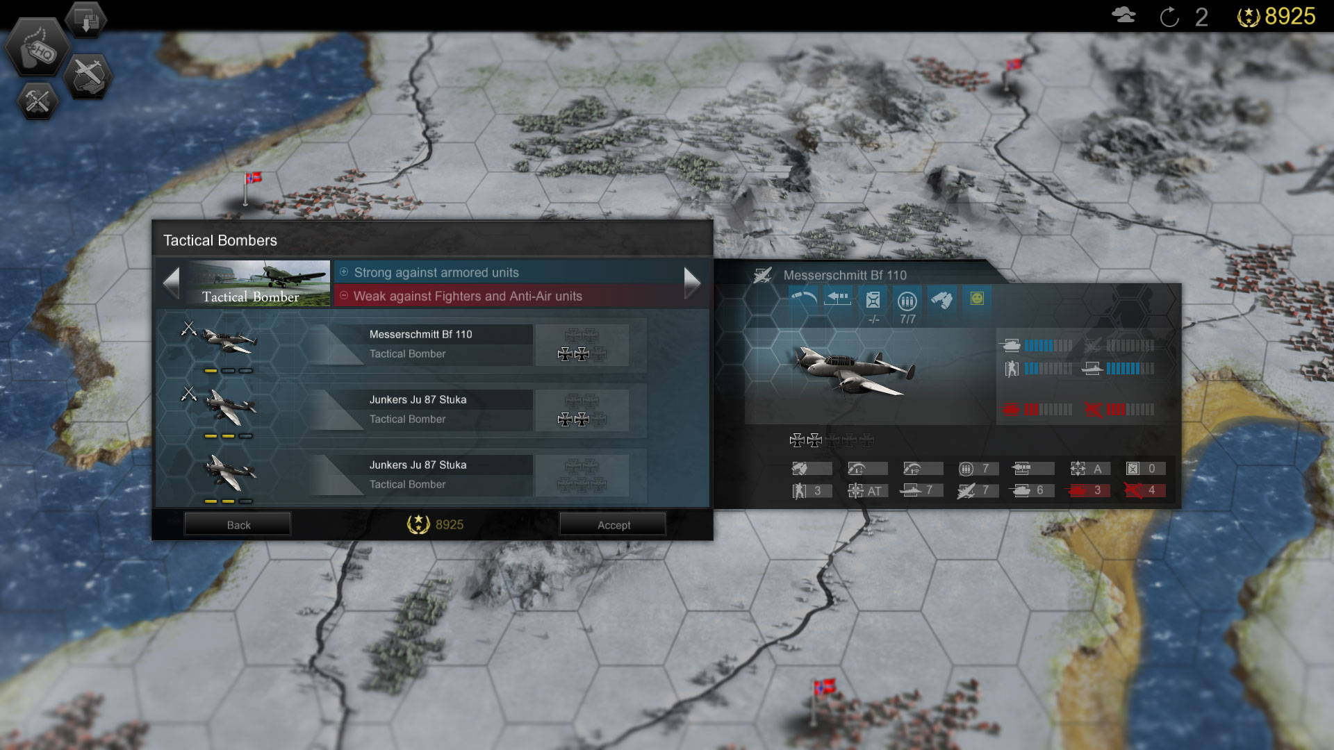 Panzer Tactics HD screenshot