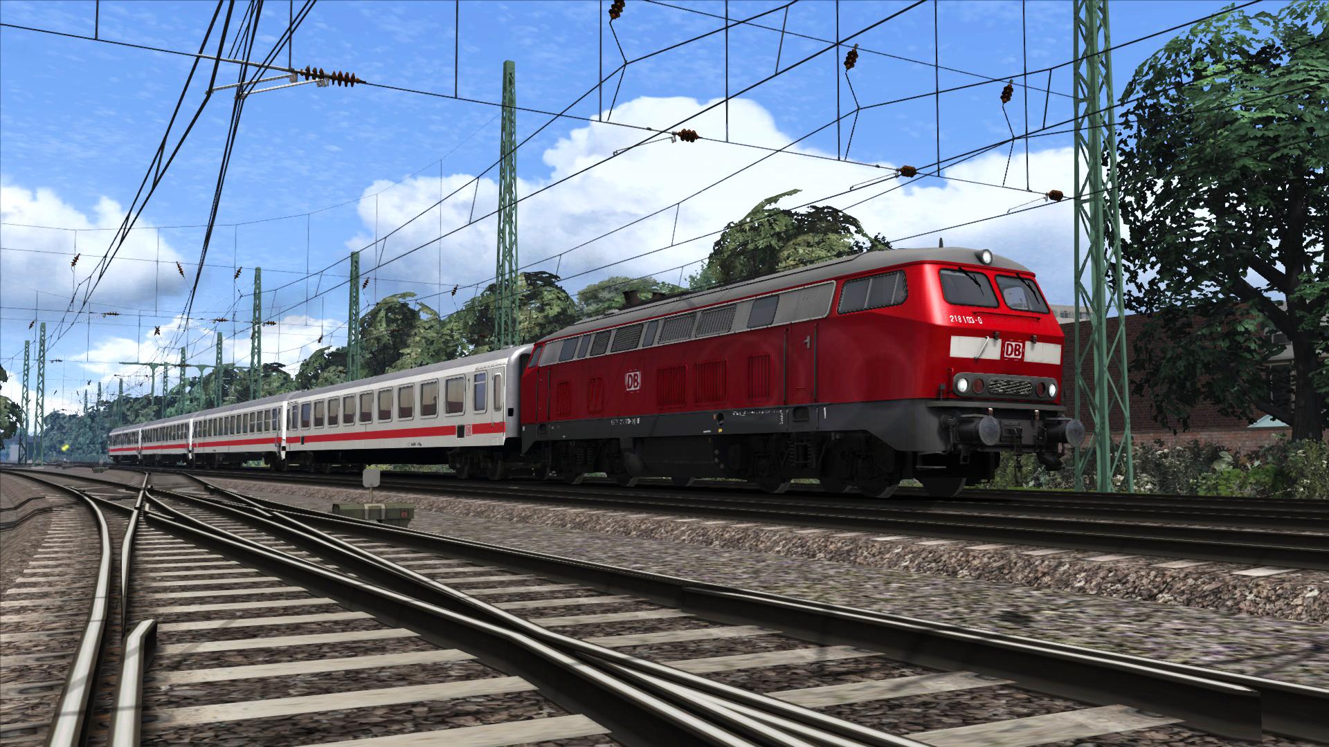 Train Simulator: DB BR 218 Loco Add-On screenshot
