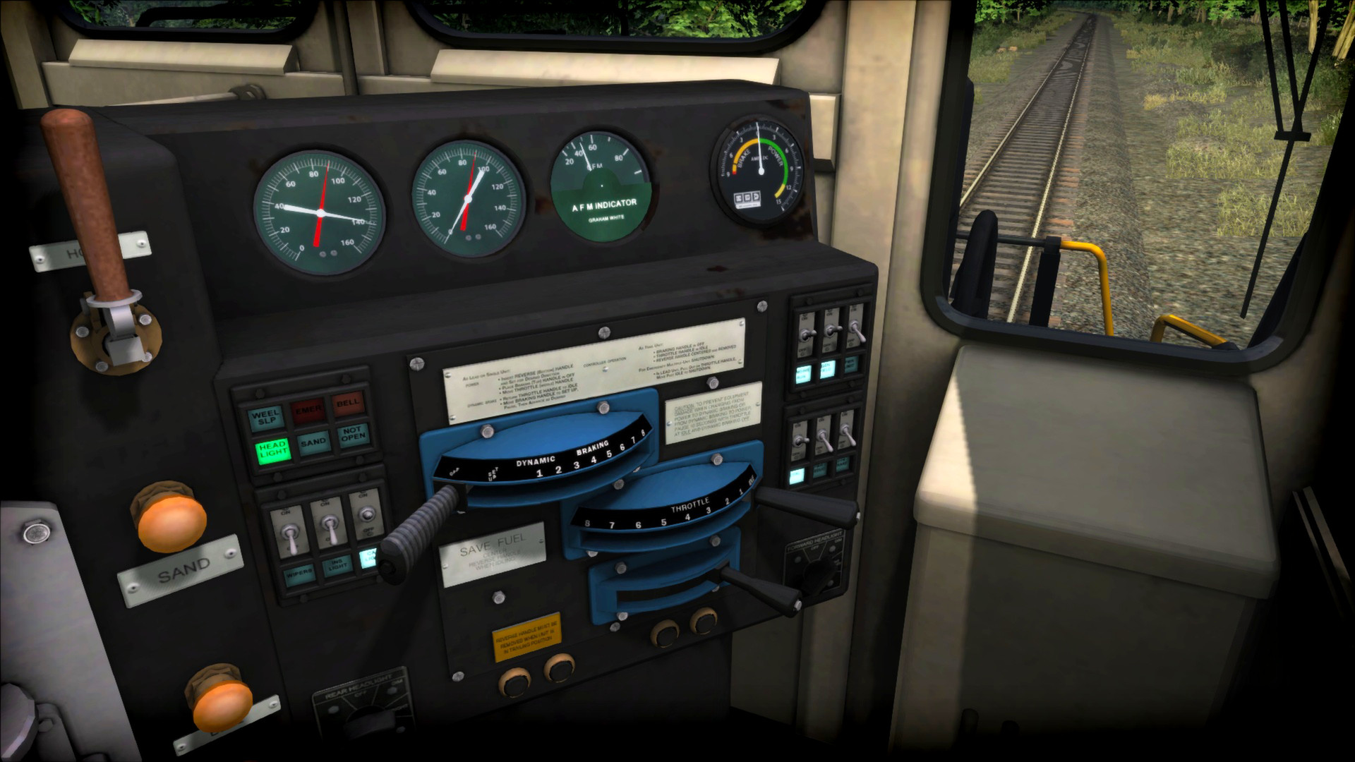 Train Simulator: Norfolk Southern Dash8-40C Loco Add-On screenshot