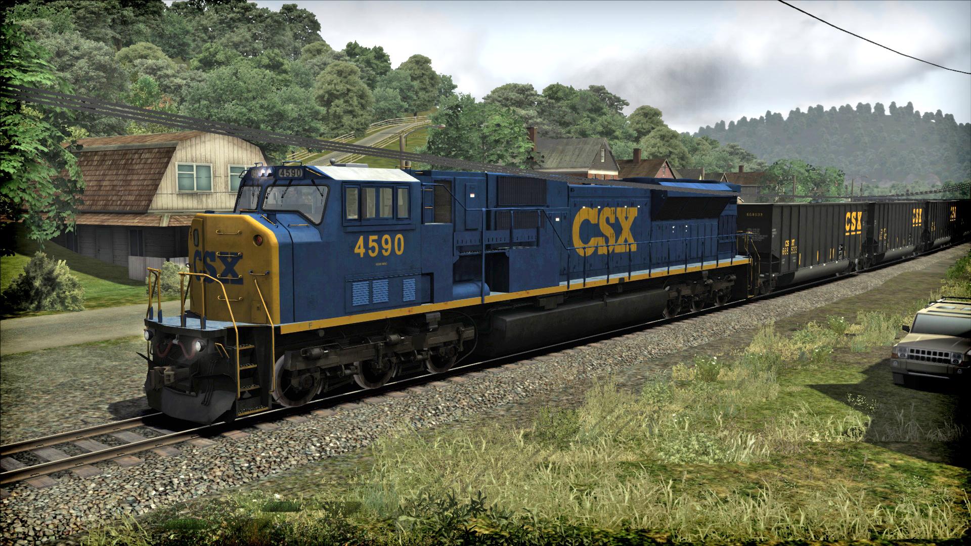 Train Simulator: CSX SD80MAC Loco Add-On screenshot