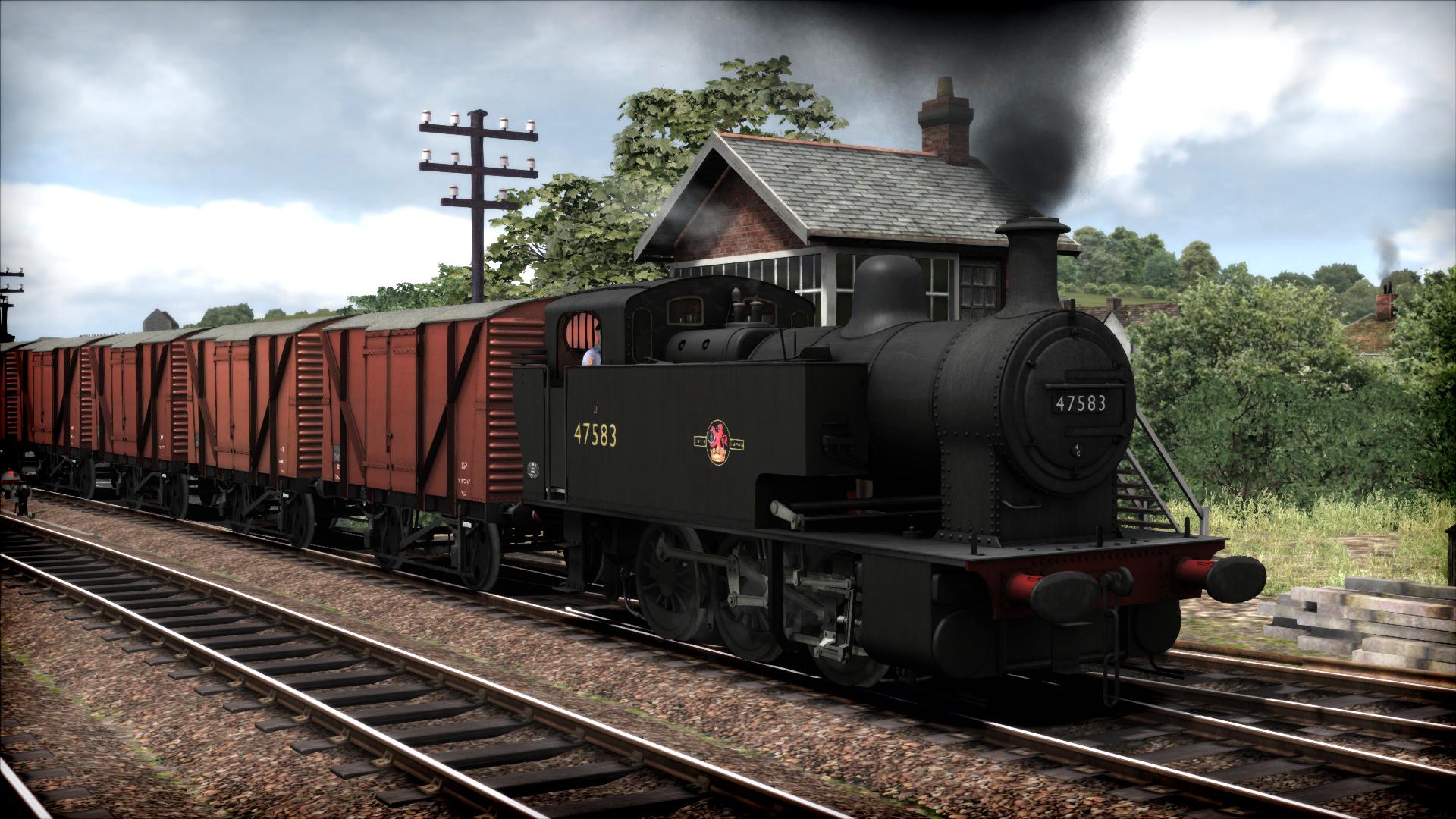Train Simulator: Class 2F Dock Tank Loco Add-On screenshot