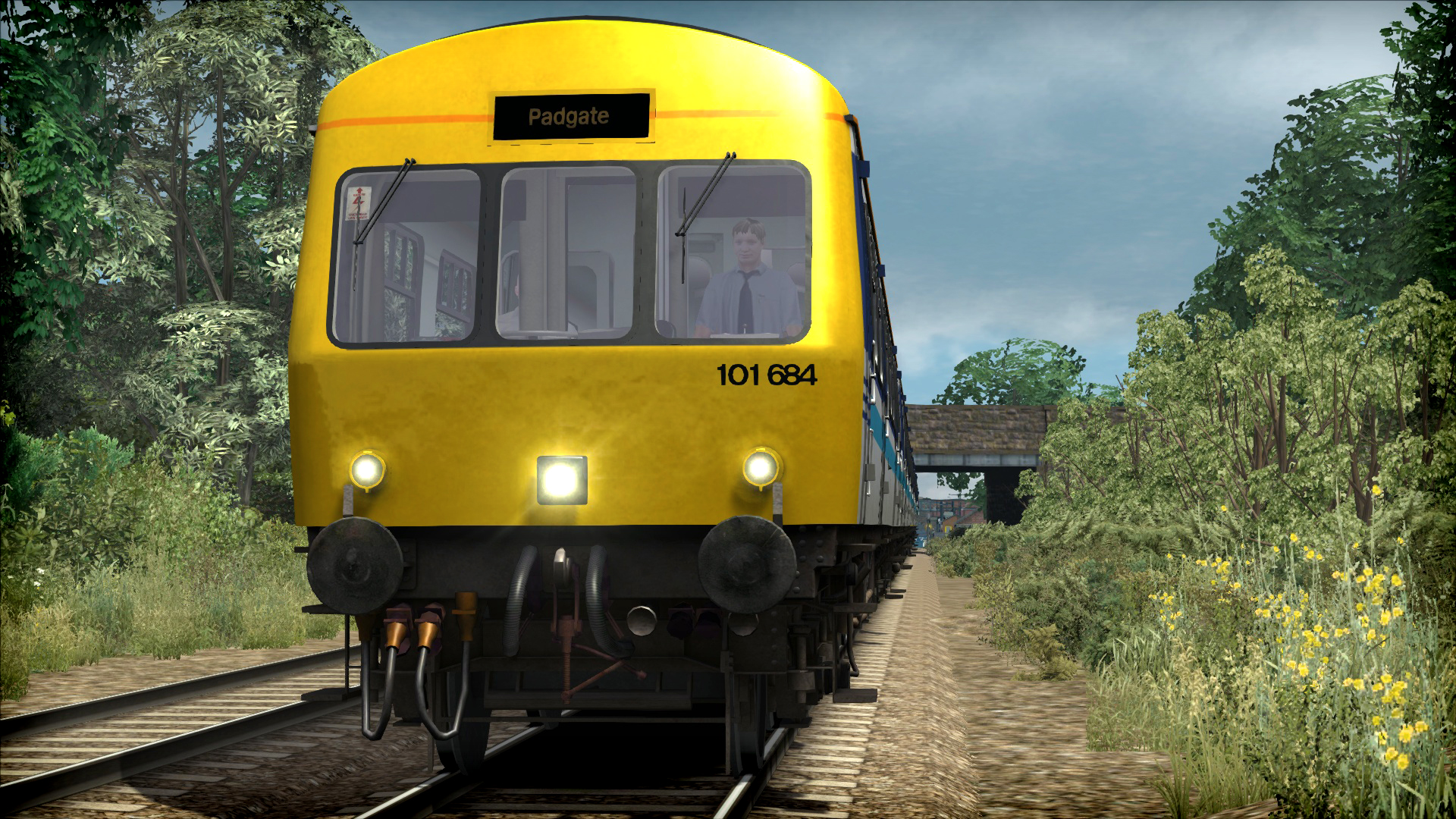 Train Simulator: BR Regional Railways Class 101 DMU Add-On screenshot