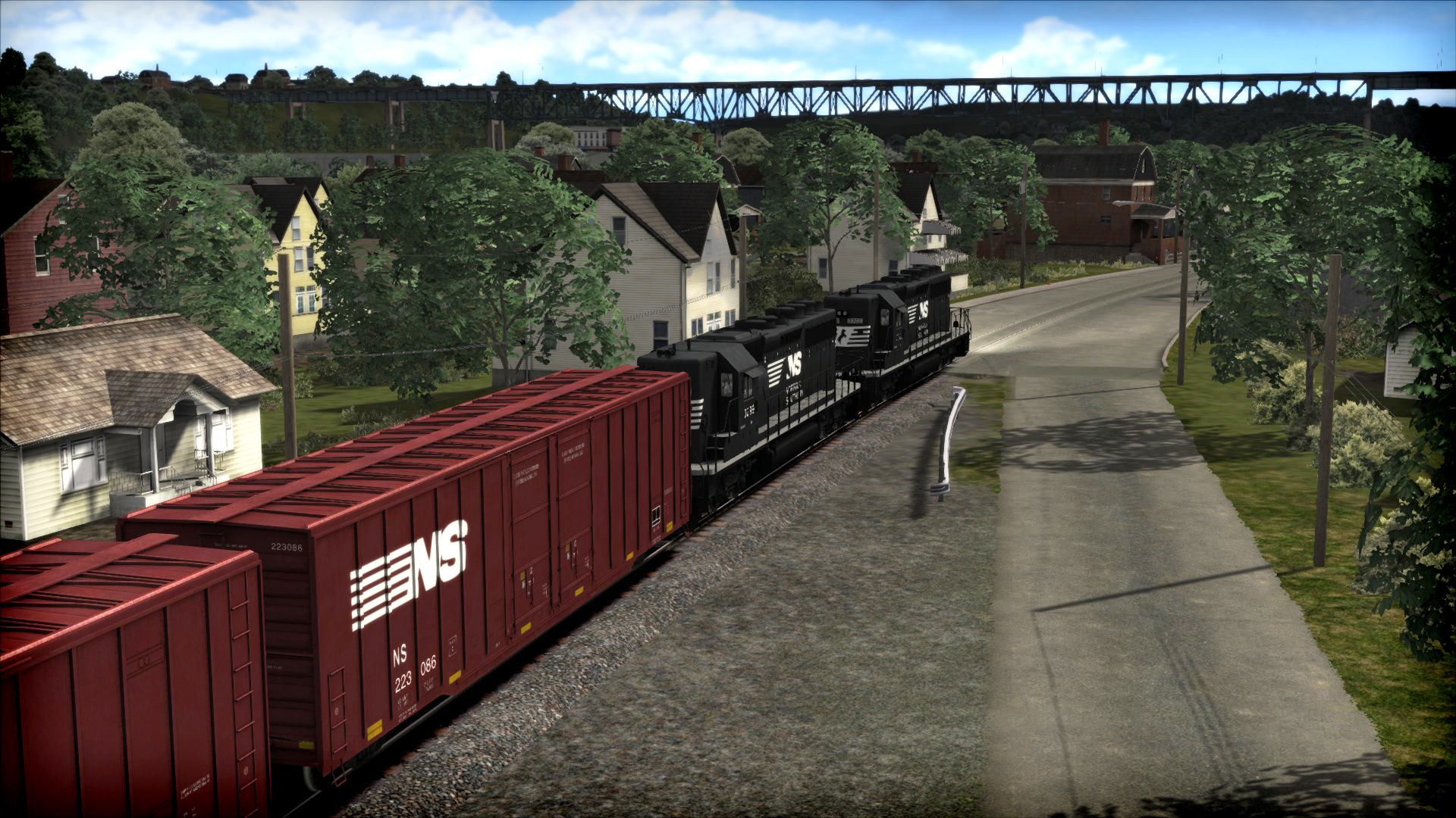 Train Simulator: Norfolk Southern SD40-2 High Nose Long Hood Forward Loco Add-On screenshot