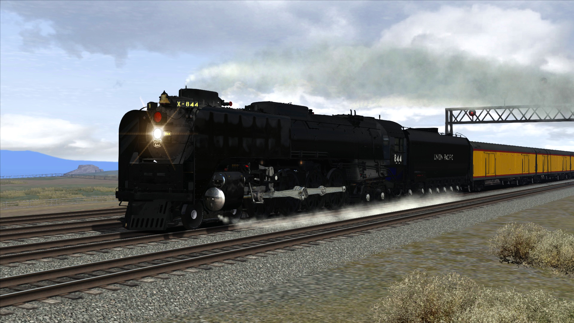 Train Simulator: Union Pacific FEF-3 Loco Add-On screenshot