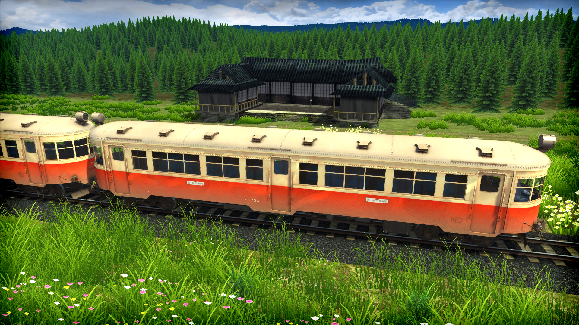 Train Simulator: The Story of Forest Rail Route Add-On screenshot