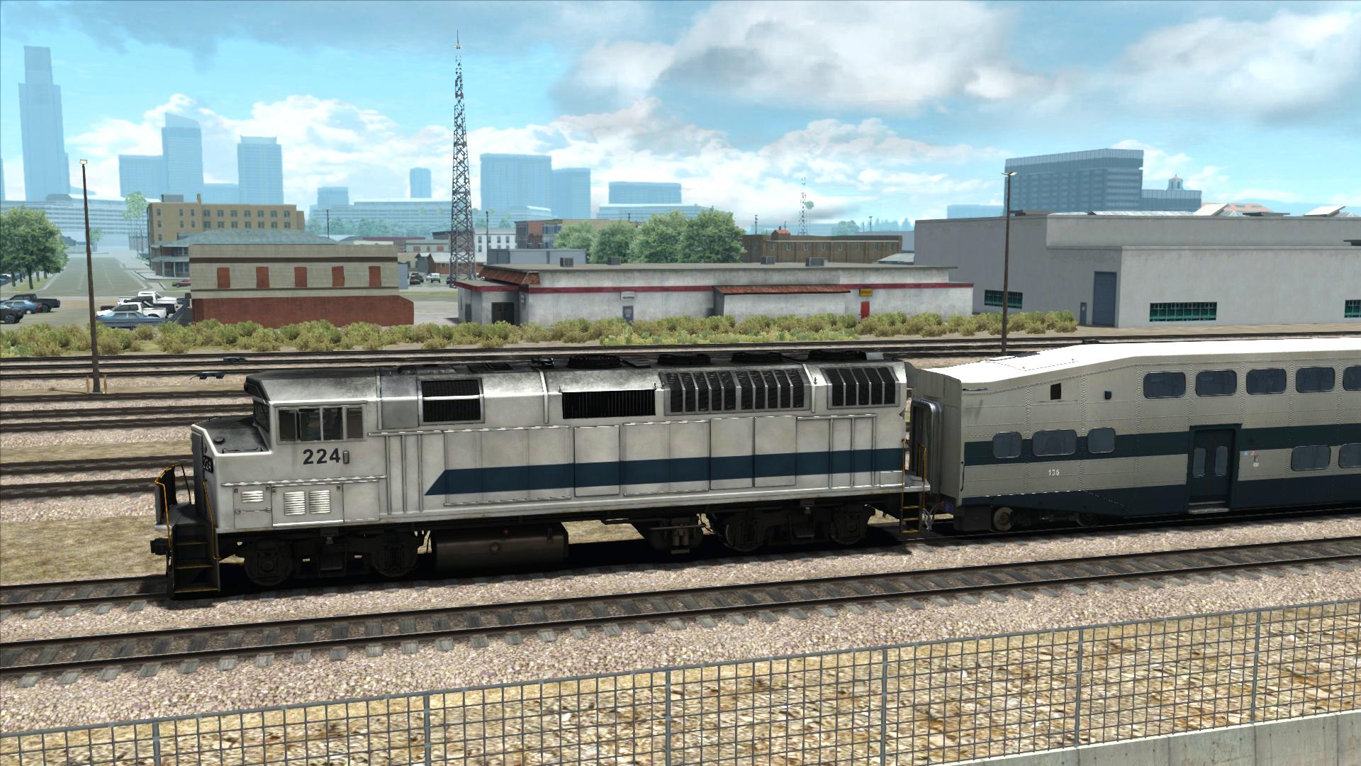 Train Simulator: Los Angeles Commuter Rail F59PH Loco Add-On screenshot