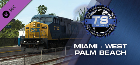 Train Simulator: Miami - West Palm Beach Route Add-On