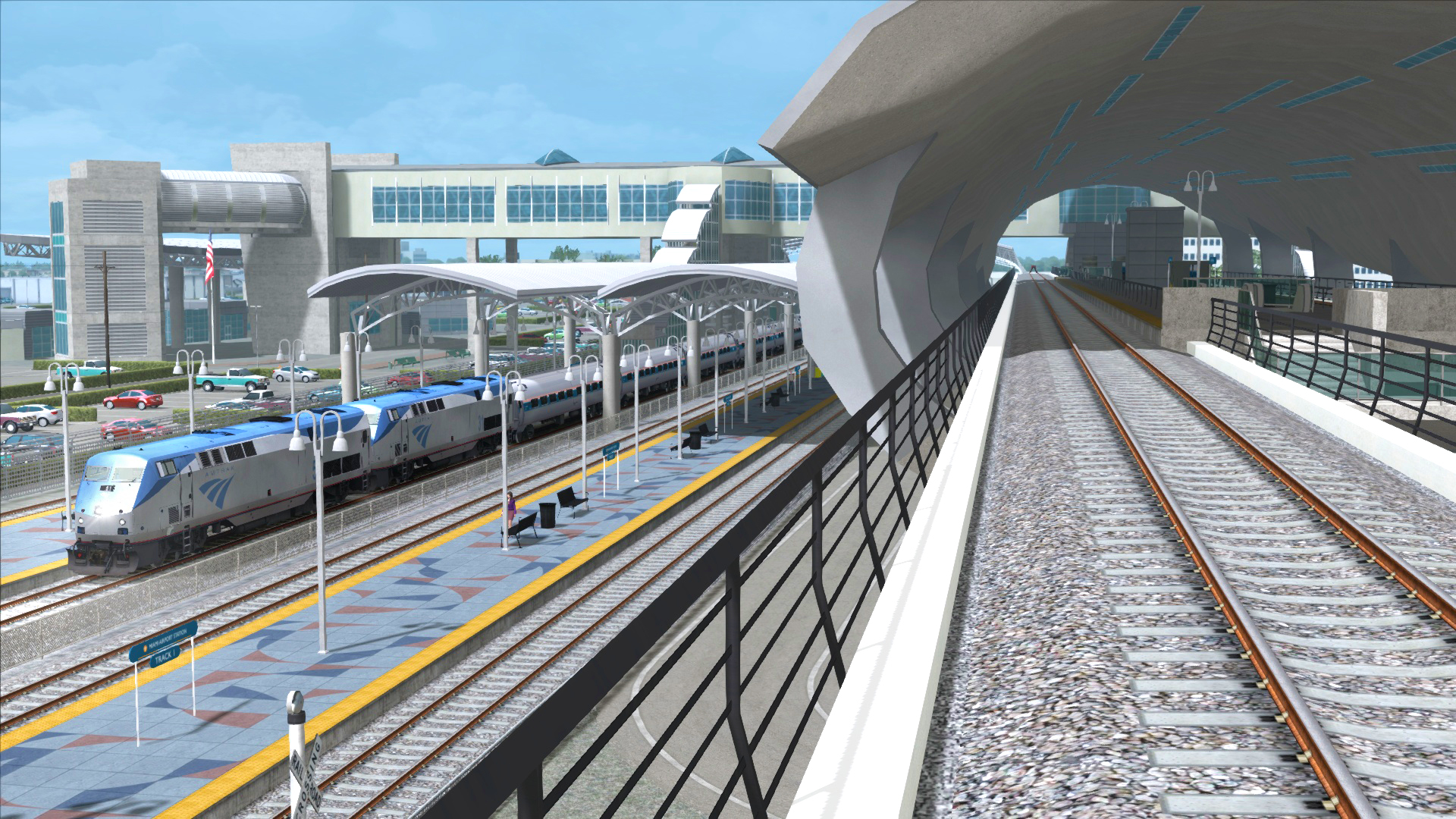Train Simulator: Miami - West Palm Beach Route Add-On screenshot