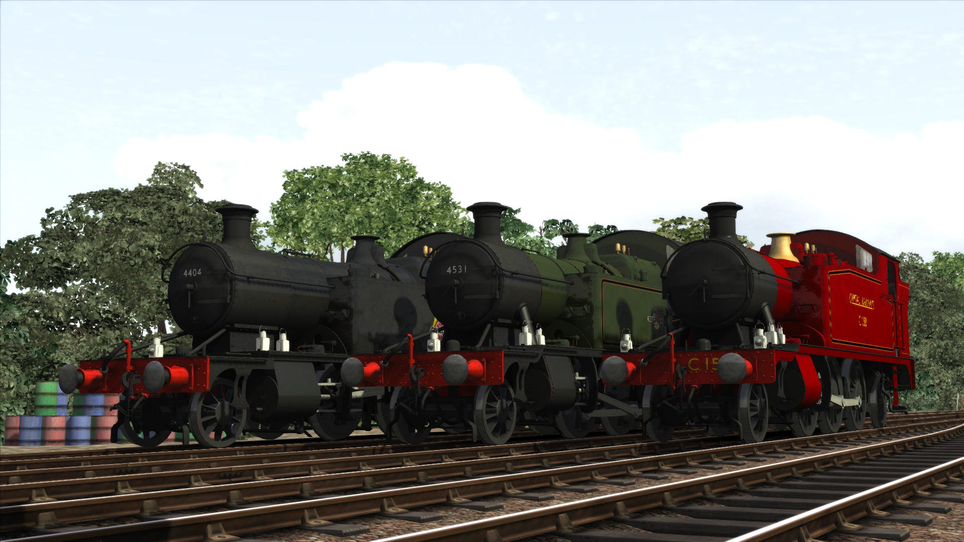 Train Simulator: GWR Small Prairies Loco Add-On screenshot