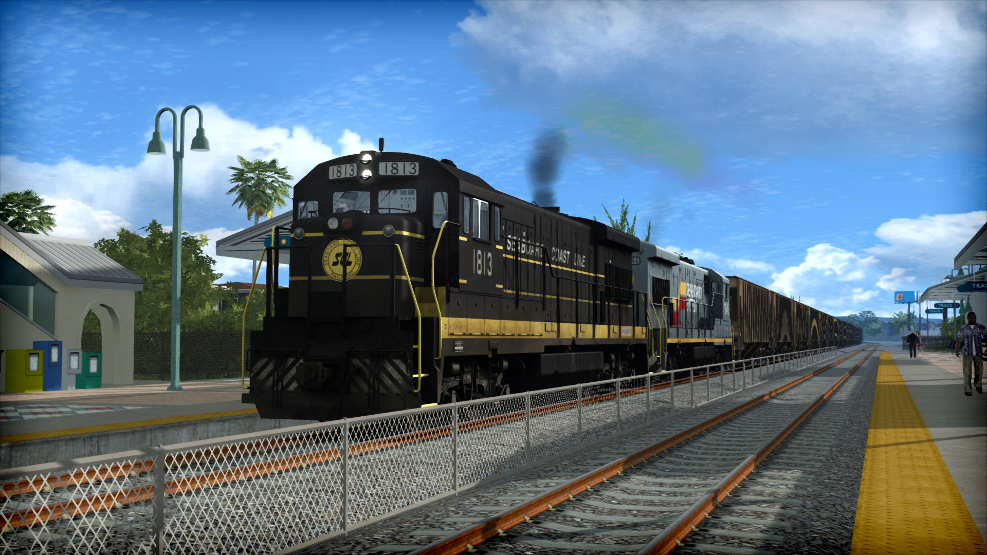 Train Simulator: Seaboard GE U36B Loco Add-On screenshot