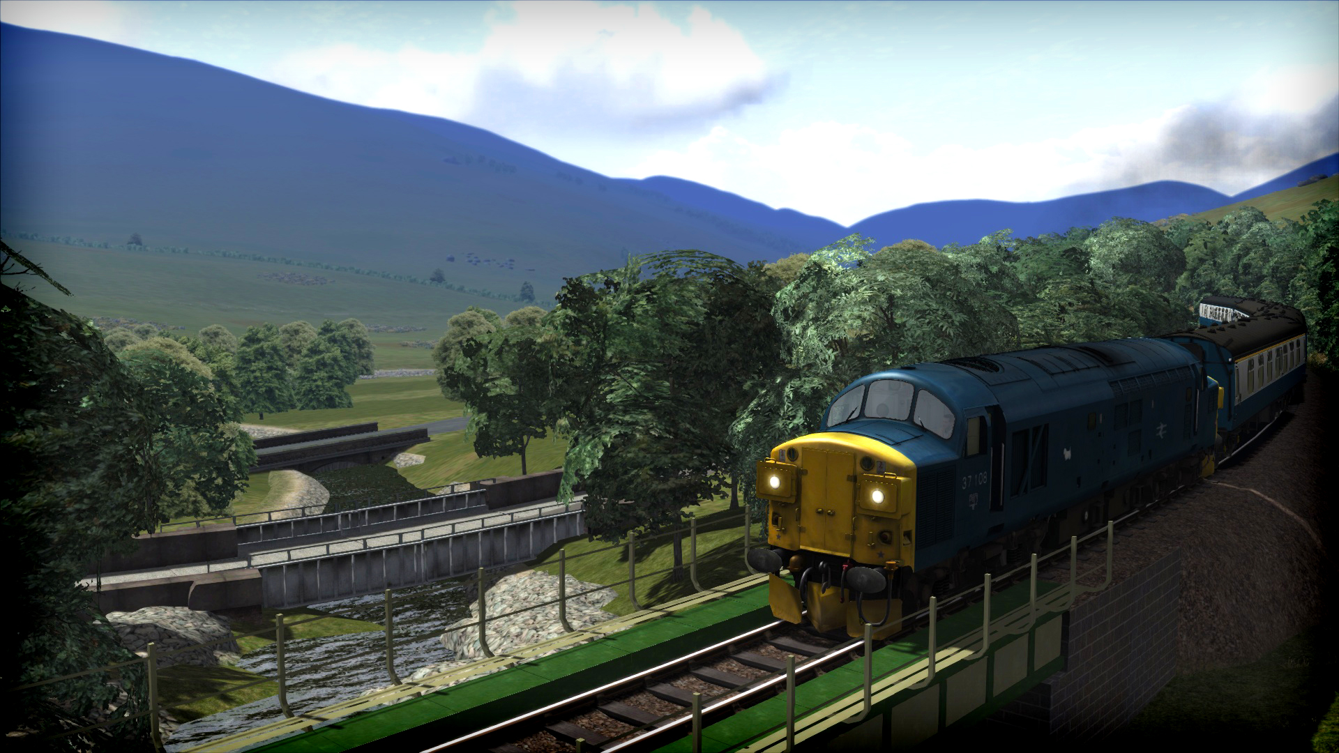 Train Simulator: West Highland Line (South) Route Add-On screenshot