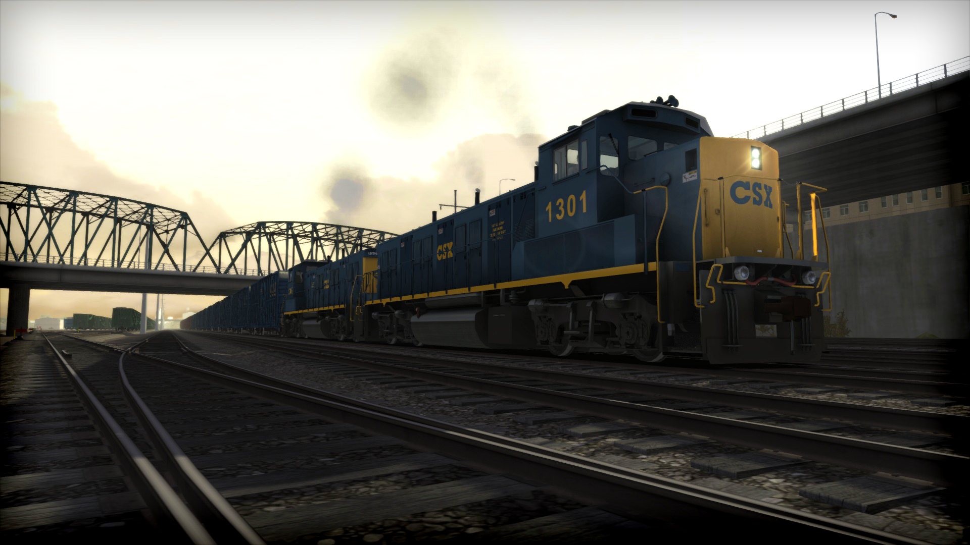 Train Simulator: CSX NRE 3GS-21B 'Genset' Loco Add-On screenshot