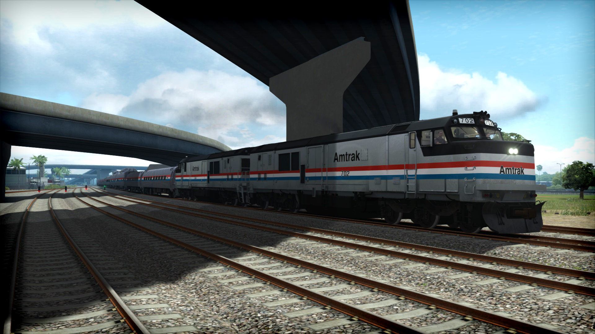 Train Simulator: Amtrak P30CH Loco Add-On screenshot