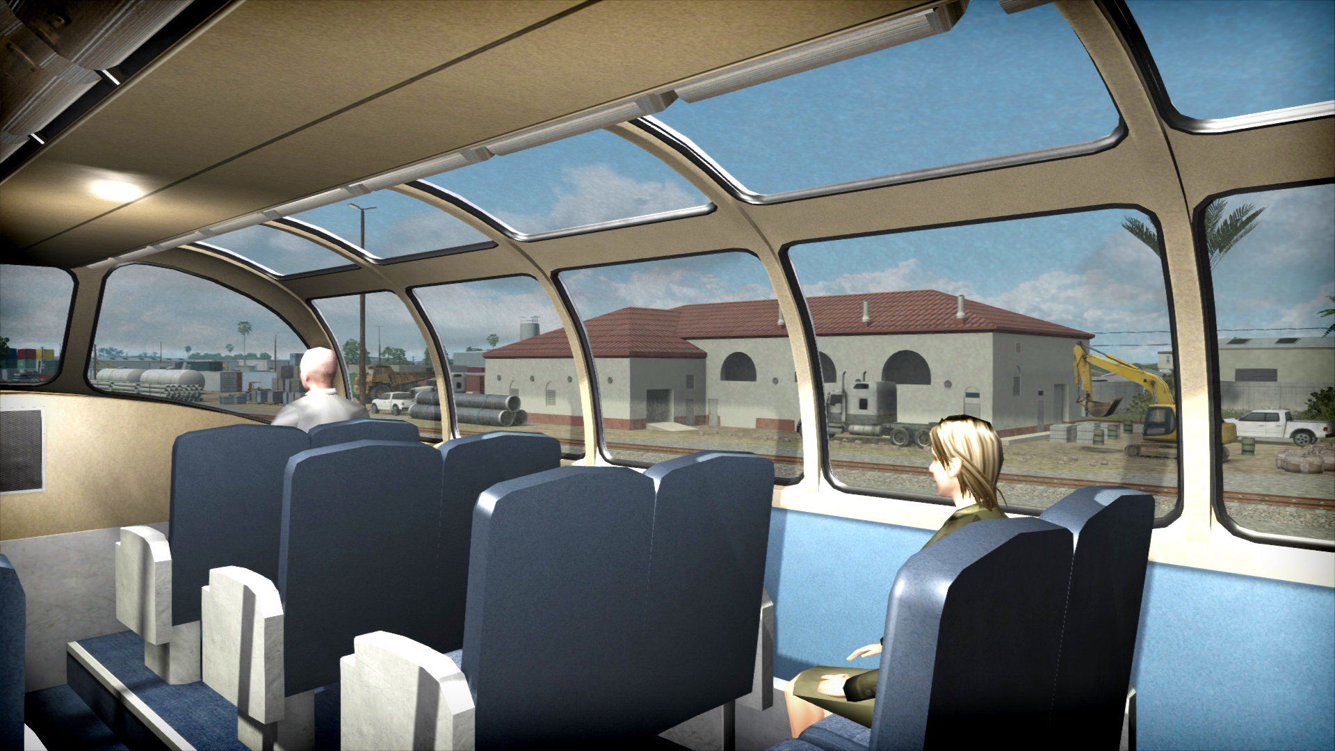 Train Simulator: Amtrak P30CH Loco Add-On screenshot